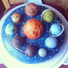 Planet Cake www.thesweetchick.com