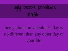 Ugly People Problem
