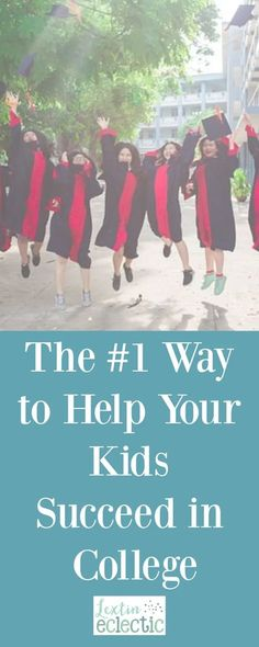 The Number 1 Way to Help Your Kids Succeed in College - Lextin Eclectic Homeschool Diploma, Homeschool Curriculum, Homeschooling, High School Students, School Fun, Middle School, Online Music Lessons, High School Curriculum, Career Exploration