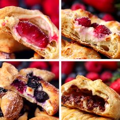 Puff Pastry Four Ways: from Lady Beth, the famous 'Sweetie!'- Pastry Four Ways: from Lady Beth, the famous 'Sweetie!' Puff Pastry Four Ways: from Lady Beth, the famous 'Sweetie! Easy Desserts, Delicious Desserts, Dessert Recipes, Yummy Food, Dessert Recipe Video, Famous Desserts, British Desserts, British Recipes, Baking Desserts