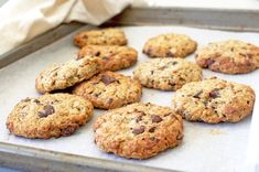 These chocolate chip cookies are absolutely perfect for lunch-boxes and afternoon snacks! Made with gluten-free wholegrain oats with a touch of sweetness from maple syrup and mashed banana, crunchy…