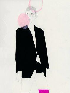 ilustraciones en blanco y negro: Cecilia Carlstedt, Stockholm, Sweden #MariaVictrix