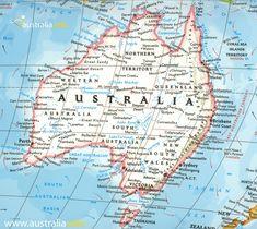 Australia Videos Nature - Australia Koala Sanctuary - Uluru Australia Hotel - Australia Travel Gold Coast - Australia Videos Poster - Australia Bucket List Things To Do In Gold Coast Australia, Australia Beach, Visit Australia, Melbourne Australia, Australia Travel, Detailed Map Of Australia, Australia Tattoo, Last Minute Travel, Travel Maps