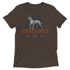Xoloitzcuintli Vintage Style Short sleeve tri-blend t-shirt by RaynBoutiqueApparel now at http://ift.tt/2DmBNQS