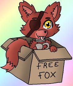 cute foxy fanart fnaf | Chibi Foxy .:FNAF:. by Lonely-Spectreon
