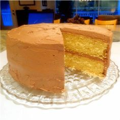One Perfect Bite: Golden Butter Cake