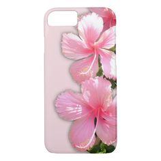 Brilliant Pink Hibiscus Flowers