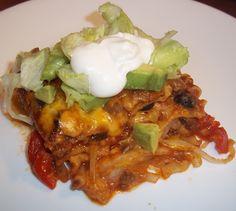 Fajita Lasagna