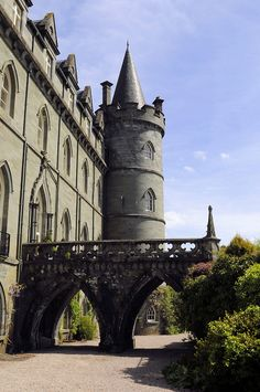 Inveraray Castle, Scotland (by Son of Groucho) (All things Europe)