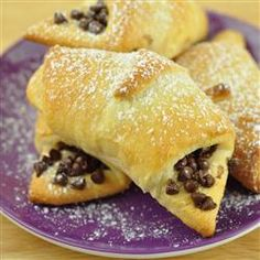 Chocolate-Filled Crescents, photo by Angie