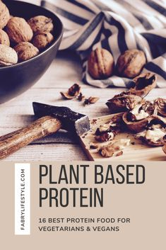 The best vegetarian protein sources that are plant based. Best Vegetarian Protein Sources, Good Protein Foods, Best Protein, Healthy Foods To Eat, Protein List, Vegetarian Recipes, High Protein, Vegan Vegetarian, Vegetarian Lifestyle