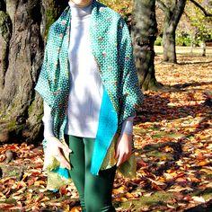 Amet & Ladoue AW14-15 SQUASH Stole #ametandladoue #stole #silk #wool #doublefaced