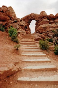 Turret Arch, Windows trail. Arches National Park contains the world's largest concerntration of natural sandstone arches (over 2,000). Moab, Grand County, Utah // photo by Arun Yenumula, 2010