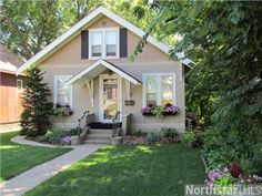 1302 Juno Avenue, St. Paul, MN 55116 — Charming cottage in exceptional condition located in a desirable neighborhood in Highland Park. The home features hardwood floors, natural woodwork, wonderful master bedroom, and a park like backyard with deck and outdoor kitchen! Will sell fast!