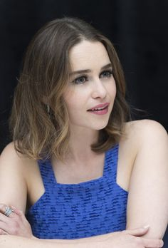 May 22: Me Before You Press Conference - 0522 mbypressconference 0021 - Adoring Emilia Clarke - The Photo Gallery