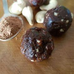 No bake Orange Cacao Balls Recipe