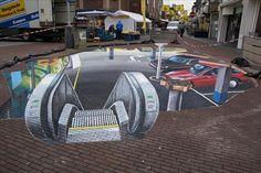 Amazing 3D Street Art – 21 Pics