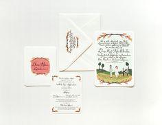 Rifle Paper Company - Adam & Lhasa's Invitation Set