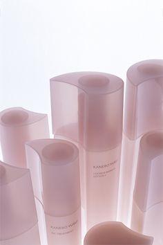 Yusui, Kanebo | WORKS - CURIOSITY - キュリオシティ - Craft Packaging, Bottle Packaging, Soap Packaging, Skincare Packaging, Cosmetic Packaging, Beauty Packaging, Kanebo, Cosmetic Containers, Cosmetic Design
