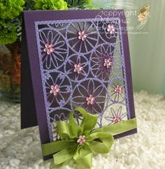 All Occasion card in Acetate