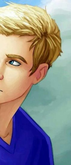 Jason Grace! Is his scar on the right side or left side of his lip?