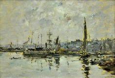 «Le port de Honfleur»