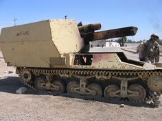 World War II Tanks, Guns And More Found In Iraq (Watch)