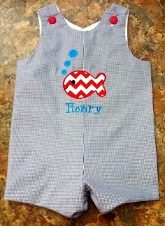 custom boutique childrens clothing John John by adorabledesignz, $35.00