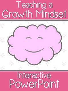Intro to Growth Mindset- An Interactive PowerPoint on Persistence and Mistakes Social Emotional Learning, Social Skills, Coping Skills, Growth Mindset For Kids, Habits Of Mind, Visible Learning, Fixed Mindset, School Social Work, Social Thinking