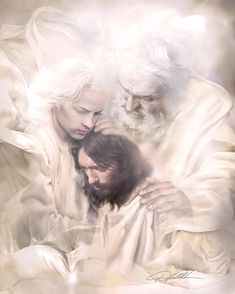 Candy's Faith – jesus Lds Art, Bible Art, Jesus Artwork, Pictures Of Jesus Christ, Images Of Christ, Pictures Of God, Jesus Painting, Paintings Of Christ, Christian Pictures