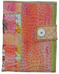 Textile Art Journal by Bekahdu  #journal #quilt #textile art