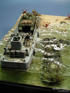 Love this 1/35th Scale D-Day Diorama