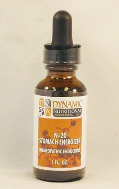 Natural Home Remedy for peptic ulcers; flatulence   N-20 Stomach Energizer Homeopathic by Dynamic Nutritional Associates www.eVitaminMarket.com