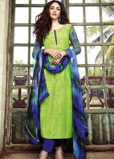 Gorgeous Aditi Rao Hydari #Cotton #Salwarsuit #Collection at Manndola.