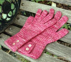 Free Knitting Pattern - Adult Gloves & Mittens: Ringwood Gloves