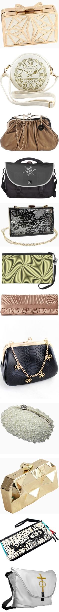 * #PURSES: #SILVER, #GOLD, #BLACK, #WHITE, #BROWN * by artist4god-rose-santuci-sofranko on Polyvore featuring polyvore, fashion, bags, handbags, choies, сумки, white handbags, lock handbag, locking purse, bow handbag, white purse, shoulder bags, sheinside, white, clock, pu leather handbag, print handbags, vintage purse, pattern purse, bronze, metallic shoulder bag, shoulder strap bag, mini handbags, mini shoulder bag, metallic handbags, accessories, purses, totes, clutches, choies bag…