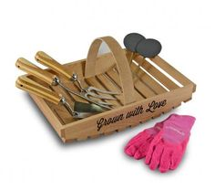 Personalised Trug Gift Set