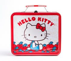 Hello Kitty Metal Lunch Box: Apples  Also really cute for the starter kits