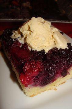 Lili popotte: Gâteau renversé aux petits fruits