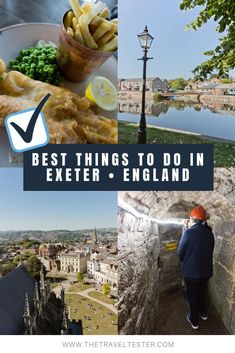 One Day in Exeter, England? Complete Guide to a Perfect City Break! Best Uk Holidays, Europe Holidays, Top Travel Destinations, Places To Travel, Exeter England, Stuff To Do, Things To Do, Random Stuff, France Travel