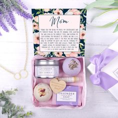 Mother & Daughter Spa Gift Box, No Jewelry 10th Birthday, Birthday Gifts, Birthday Box, Real Rose Petals, Lavender Soap, Spa Gifts, Party Gifts, Soul Sisters, Soy Wax Candles