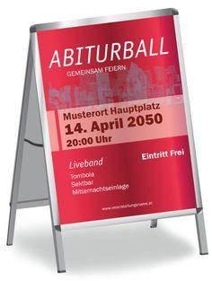 Abiturball Poster in den Größen DIN A0 / DIN A1 / DIN A2  und DIN A3 #poster #abiturballposter #abiturballplakat #plakat #abiturball #abiball