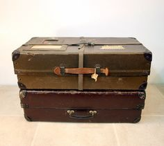 Vintage Shipping Box / Fiberco Laundripak by ConceptFurnishings, $38.00