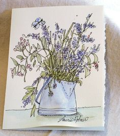 My nature watercolor art cards are original one-of-a-kind paintings that are suitable for framing. The watercolor art you will receive has it's own unique individual qualities only an original watercolor can give.