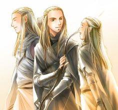 Haldir, Rumil and Orophin