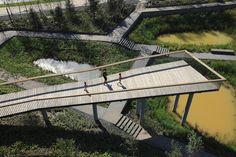 Qunli Stormwater Wetland Park Stores Rainwater While Protectin...