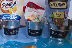 Host the best Fishing  birthday Party ideas from food to fishing party party favor ideas.