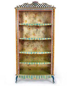 MacKenzie-Childs Arlecchino Bookcase