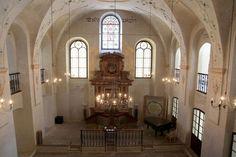 Dr. Andrew Goldstein v kolínské synagoze