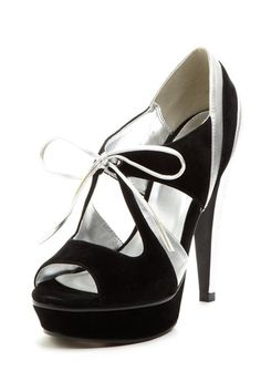 Michael Antonio Kambria Platform Heel Pump...YES!